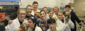 2016 Seton School Biology Dual Enrollment Class
