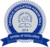 Seton School Catholic Education Honor Roll Excellence Seal
