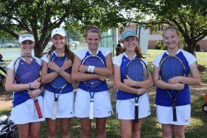2016 Seton Varsity Tennis Team