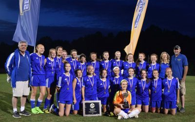 Varsity Girls Soccer WIN DAC Conference Tournament and VISAA Div II State Championship!