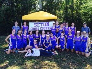2016 Seton Varsity Cross-Country Team