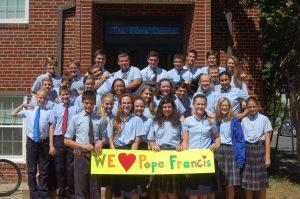 Student Life at Seton Junior Senior Catholic High School in Northern Virginia