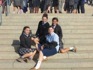 Seton School Pilgrimage at the Basilica