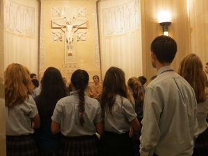 Seton School Pilgrimage to Shrine