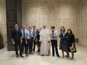 Seton School Pilgrimage to Shrine