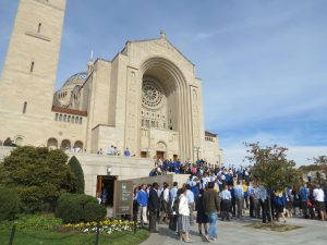 Seton School Pilgrimage at the Basilica