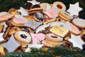 Christmas Basket Cookies