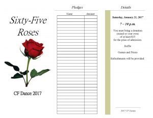 CF Dance Pledge Form