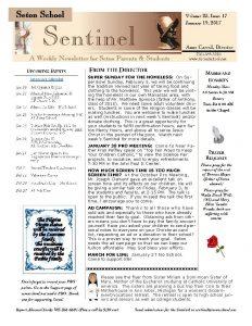 Seton School Sentinelv23i17