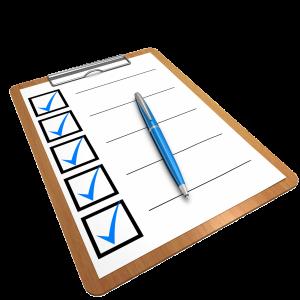2017 Exam Schedule