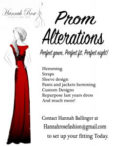 Prom Alterations Image