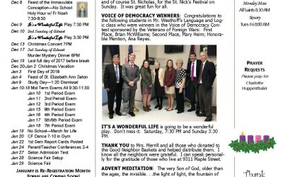 The Sentinel – December 7, 2017