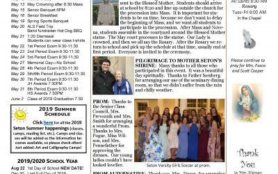 The Sentinel – May 9, 2019