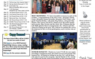 The Sentinel – May 16, 2019