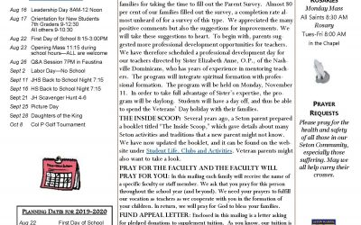 The Summer Sentinel – August 1, 2019