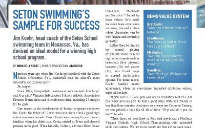 Seton Swimming in the News!