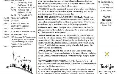 The Sentinel – January 9, 2020