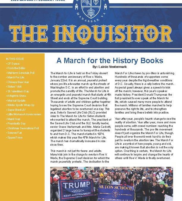 The Inquisitor – 2020 Feb/Jan Issue