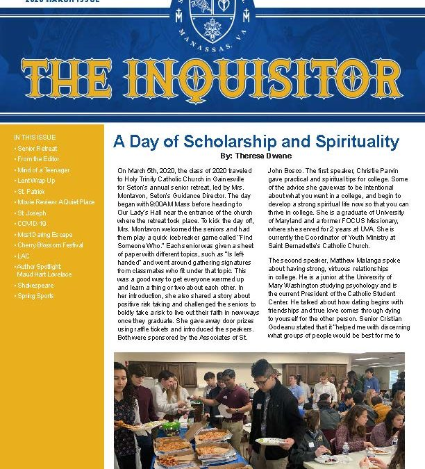 The Inquisitor – 2020 March Issue