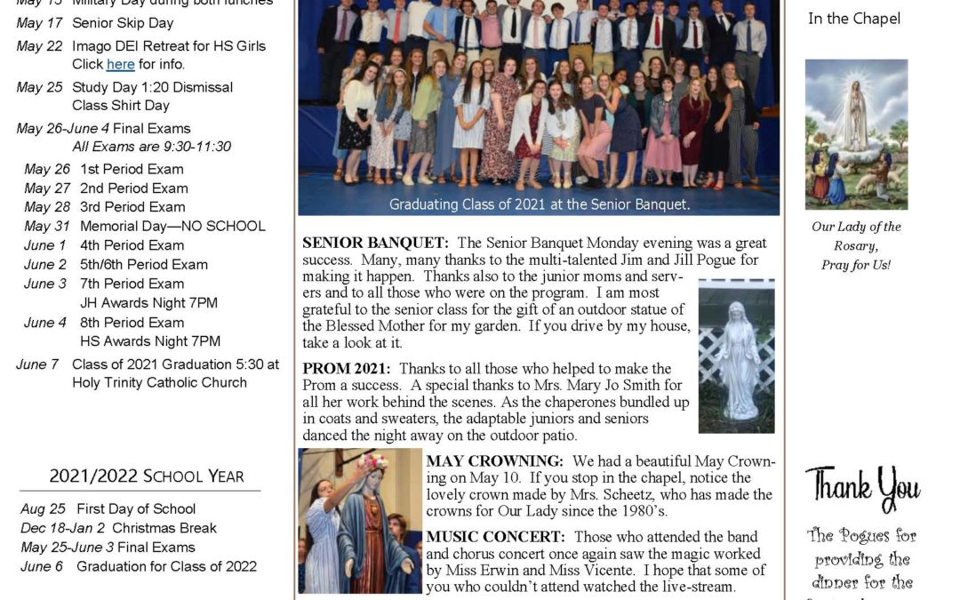 The Sentinel – May 13, 2021