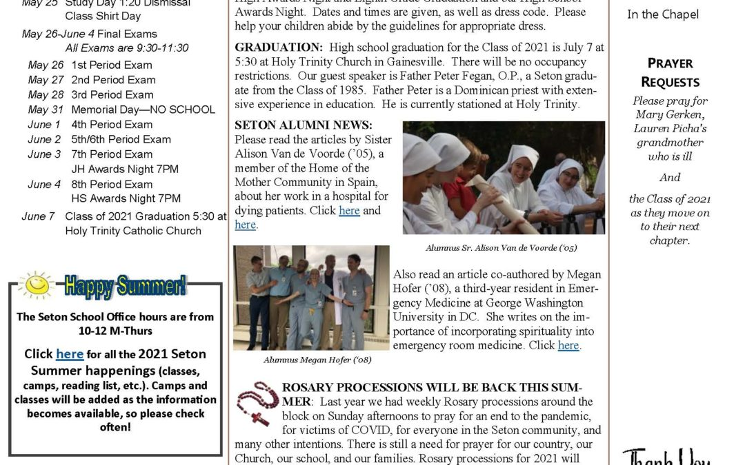 The Sentinel – May 20, 2021